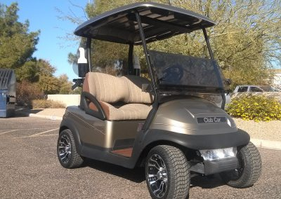 what are rebuilt golf carts