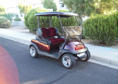 custom seats for golf carts