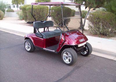 rebuilt golf carts
