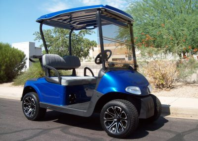 golf cart painting in arizona