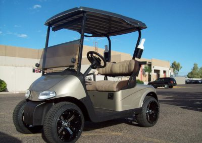 get your golf cart repainted