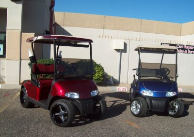 golf cart custom paint