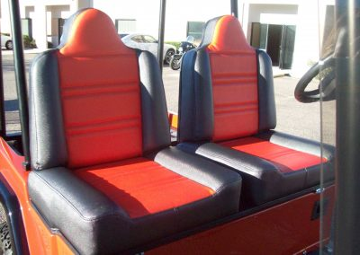 custom upholstered seats