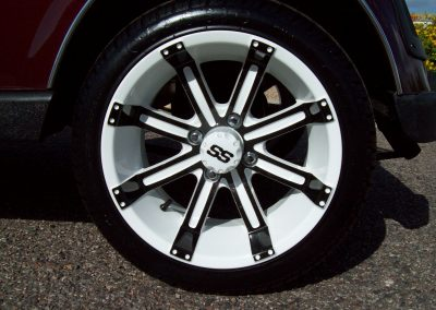 golf cart wheels