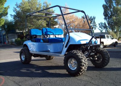 golf cart suspension lift