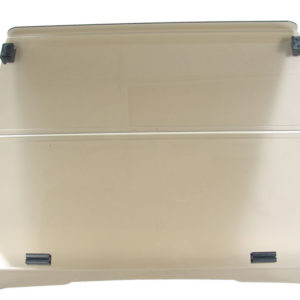 "1/4"" Tinted Fold Down Windshield"