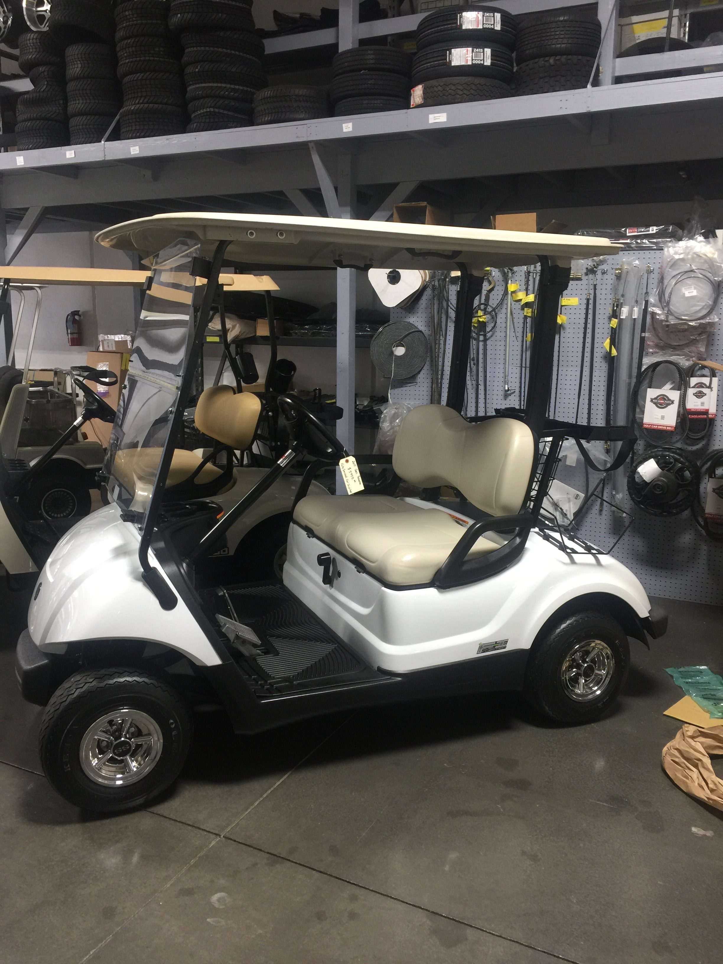 2015 Gas Yamaha Golf Cart
