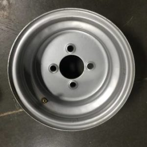 Used 10×7 Silver Steel Wheel