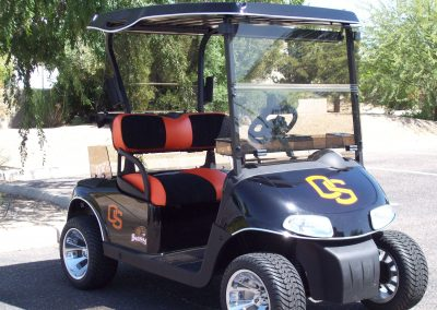golf cart painting