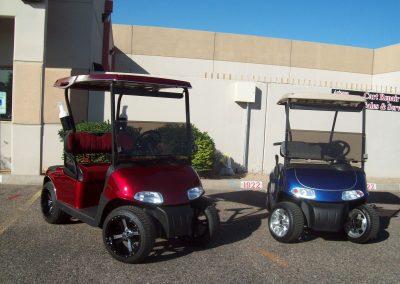 golf cart custom paint