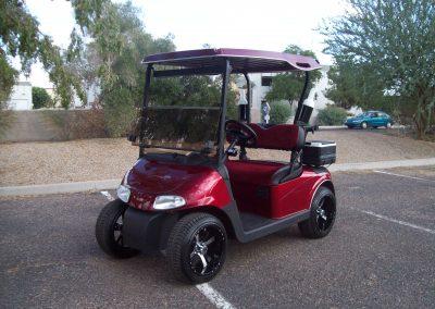 golf cart painting mesa az