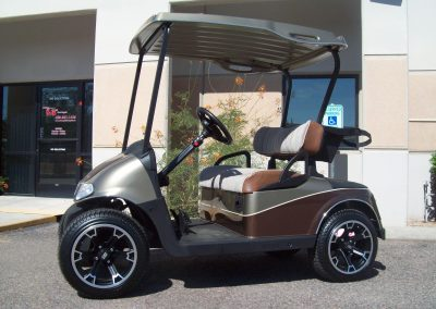 where to get golf cart repainted